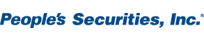 People's Securities, Inc. official logo. PSI is a subsidiary of People's United Bank.