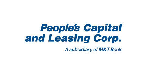 Peoples' Capital and Leasing Corp official logo. PCLC is a subsidiary of People's United Bank.