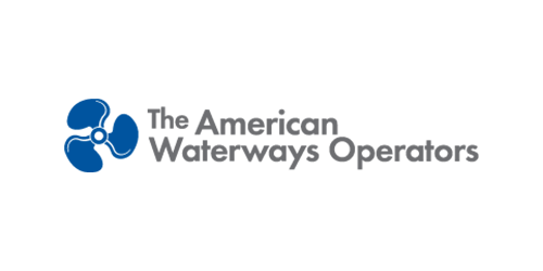 The American Waterways Operators official logo